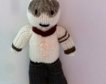 War Boy (Mad Max) knitted doll