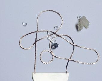Gaea | Minimalist and Modern Geometric Necklace