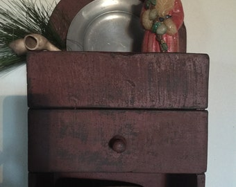 Tombstone Drawer Wall Box