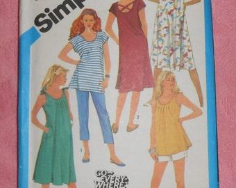 Simplicity Maternity Sewing Pattern #6469- Size 8