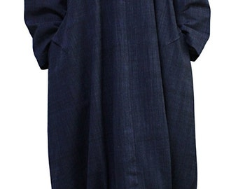 ChomThong Hand Woven Cotton Loose Dress (DNN-078-05)