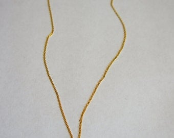 Amazing gold plated cactus necklace