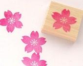Cherry blossom stamp, Wedding tree, Japanese stationery, Sakura