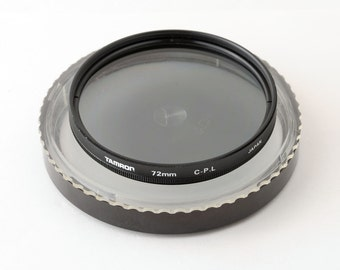 Tamron 72mm Circular C-P L Polarising Lens Filter with Keeper