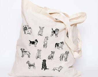 SALE || Canine Tote Bag