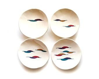 Vintage Studio Pottery Plates