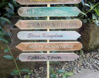 The Shire Sign Post