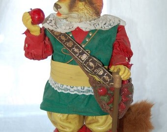 """Londonshire by Possible Dreams """"Sir Red"""" Pioneer Fox Clothtique Original"""