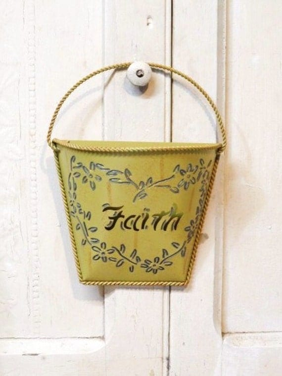 Metal Envelope Wall Decor : Metal envelope pocket decorative faith cut out door or wall