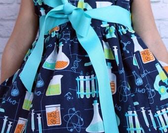 Little Girl, Cute Girl Clothes, Little Girl Dresses, Toddler Dress, Play Dress, Science Dress