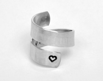 I Love You to the Moon and Back Ring / Promise Ring / Mother's Day gift