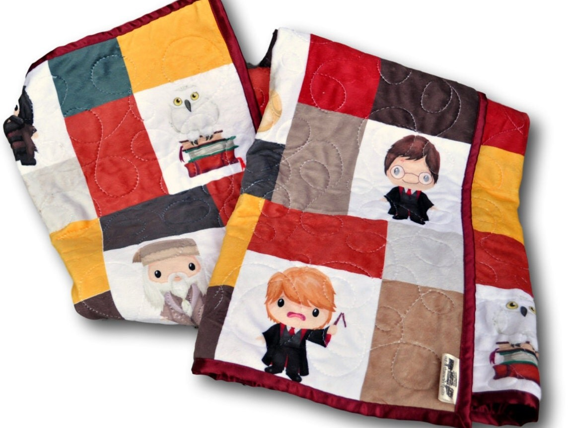 harry potter baby personalized baby blanket harry potter. Black Bedroom Furniture Sets. Home Design Ideas