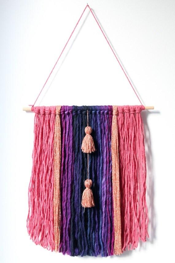 Articles similaires d coration murale en laine et coton for Decoration murale laine