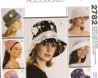 McCall's 2782 Hat Sewing Pattern