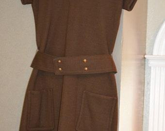Rosani San Francisco Brown Dress