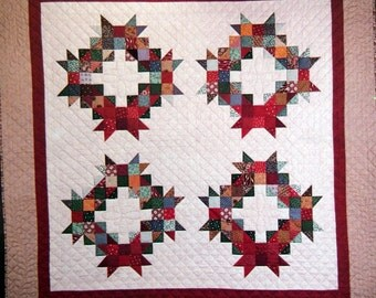 Countryside Wreaths by Thimbleberries Wall Quilt Pattern Packet Undated