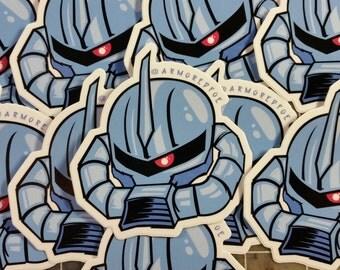 Mobile Suit Gundam - Gouf High gloss sticker