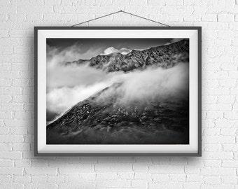 Mountain Landscape- New Zealand - Digital Wallpaper - Digital Download - Printable