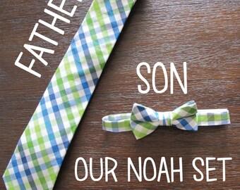 2 Bow Ties + 1 Dad Tie