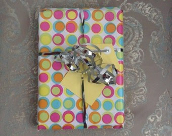 Handmade Gift Tags - Yellow