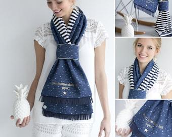 Headscarf mid-season Youpla: model Adolie (Spring 1)