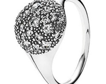 Sterling Silver Cosmic Stars Statement Ring,ideal gift .size 54 N USA 7