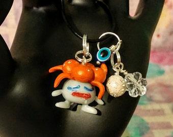 pokemon inspired gloom charm cell phone necklace bracelet