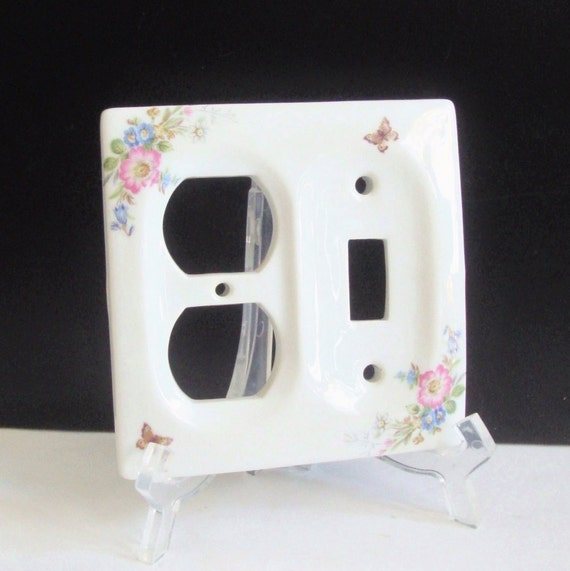 outlet cover switch plate double outlet cover decorative. Black Bedroom Furniture Sets. Home Design Ideas