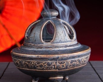 Chinese Incense & Charcoal Resin Burner Heaven