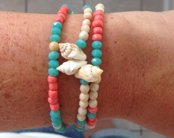 Shell Bracelets-Surfside