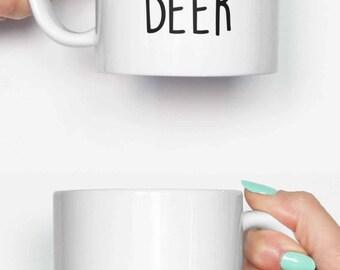 Possibly Beer Quote - funny mug, gifts for him, meme mug, unique mug, office mug, christmas mug, gifts for her 4M059