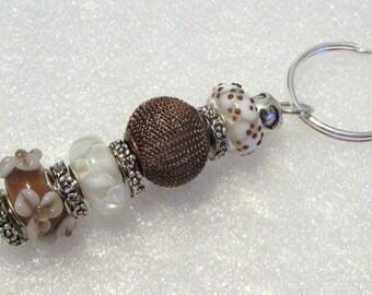 989 - Beaded Key Ring