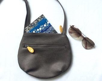 mini crossbody bag   small cross body bag in vegan leather   mini bag in vegan leather   black vegan crossbody bag   vegan leather purse