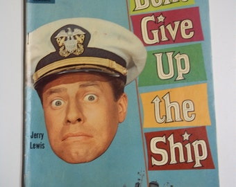 Dell Movie Classic Comics # 1049 Don't Give Up the Ship 1959 Vintage Comic Book VG+