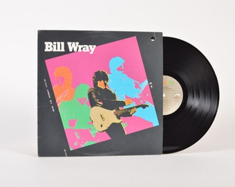 "BILL WRAY - ""Seize the Moment"" vinyl record"