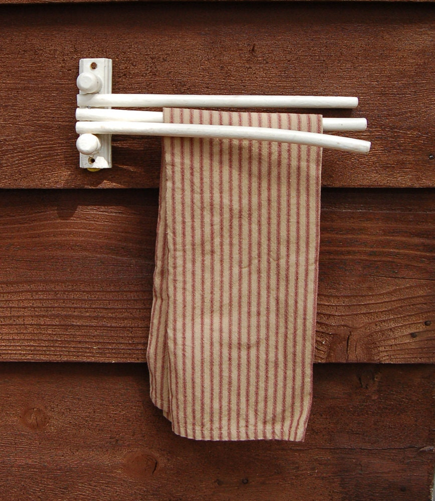Swing Arm Towel Holder Vintage Kitchen Towel Rack Old