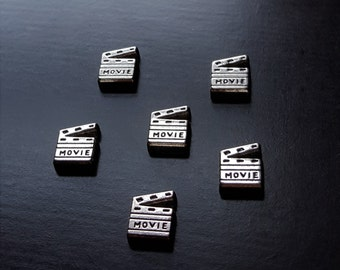 Movie Clapperboard Floating Charm for Floating Lockets-Gift Idea