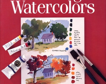 Painting Watercolors by Cathy Johnson - First Steps Series | Art Instruction Book