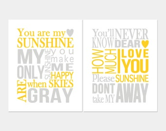 You Are My Sunshine Wall Decor you are my sunshine wall art. you are my sunshine lyrics. my