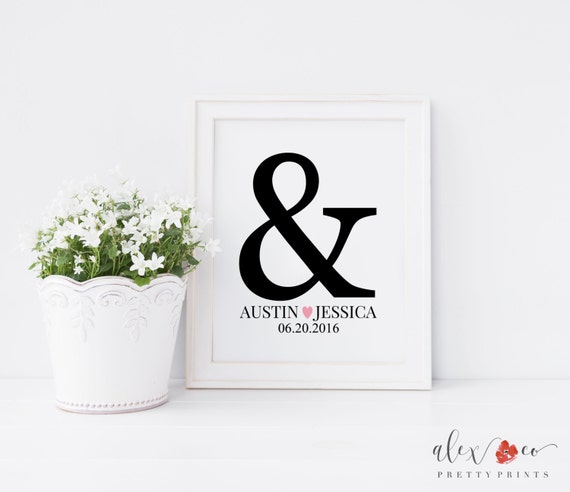 Bride And Groom Wedding Gifts: Personalized Wedding Gifts For Couple. Bride And Groom Gift