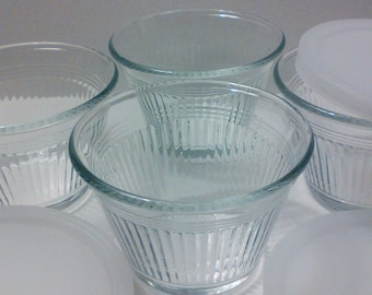 Small glass dishes dipping sauce dish dessert bowl small bowl glass bowl vintage dessert cups