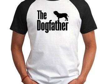 The dogfather Neapolitan Mastiff Raglan T-Shirt