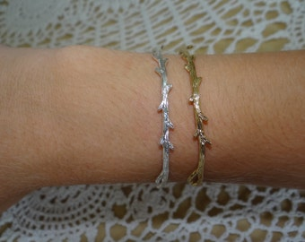 Tree Branch Adjustable Bracelet