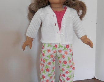 Five piece outfit for The American Girl Doll