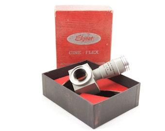 Elgeet Cine-Flex Vintage Reflex viewer and Opto Aligner 8mm camera #CFX -8 Rochester NY in Box