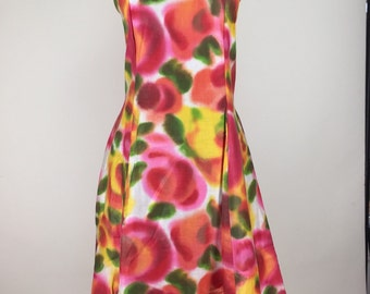 Psychedelic 60s Dress