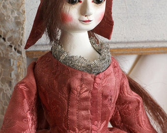 May I, Queen Anne style wooden doll