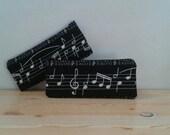 Music pencil case, music pencilcase, music pouch, music purse, musical pencilcase, musician gift, musician pouch, musical purse, score print