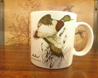 Vintage Otagiri Japan Mallard Mug