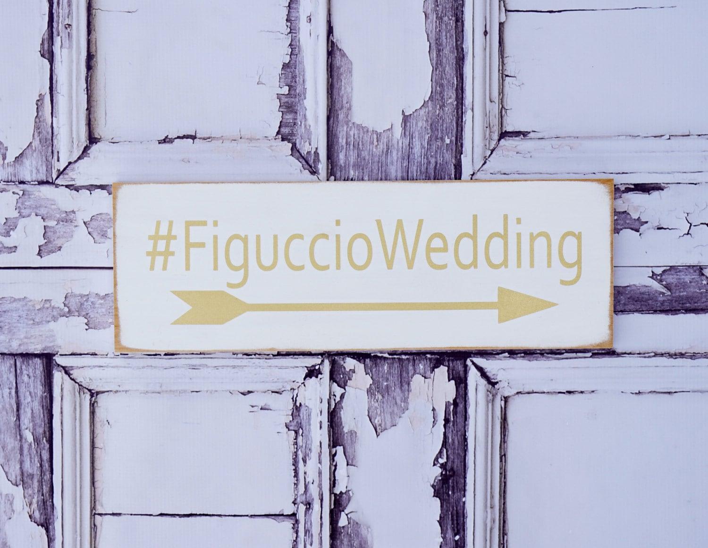 Hashtag sign wedding hashtag personalized wedding decor for Decor hashtags